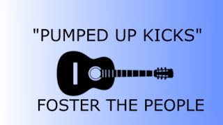 como tocar pumped up kicks foster the people   tutorial en guitarra