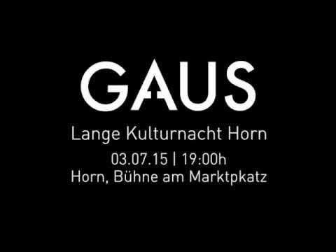 GAUS Live: der Horn Trailer