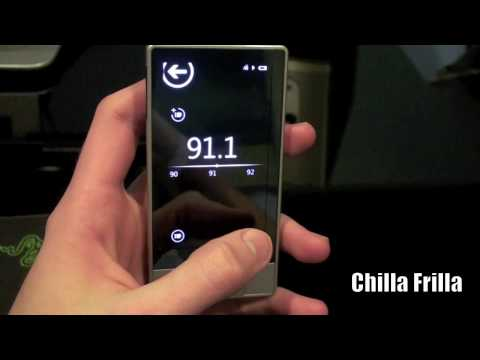 Chilla Frilla - Zune HD Unboxing and Review (HD) 720p
