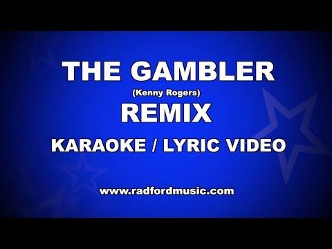 The Gambler Remix - Kenny Rogers - Karaoke Lyric Video
