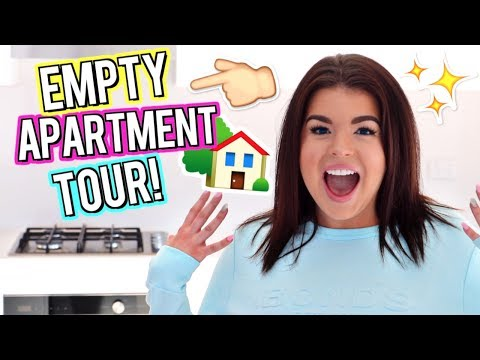 I MOVED! + EMPTY APARTMENT TOUR! Moving Vlog #1