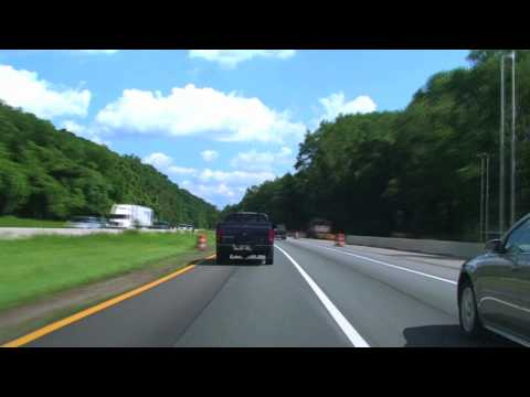 I-80 Through the Delaware Water Gap: PA-NJ