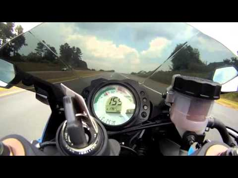2008 zx10r top speed - youtube
