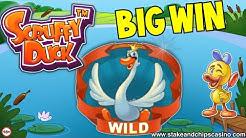 DOUBLE FEATURE WIN !! - SCRUFFY DUCK 🚨 Online Casino Bonus