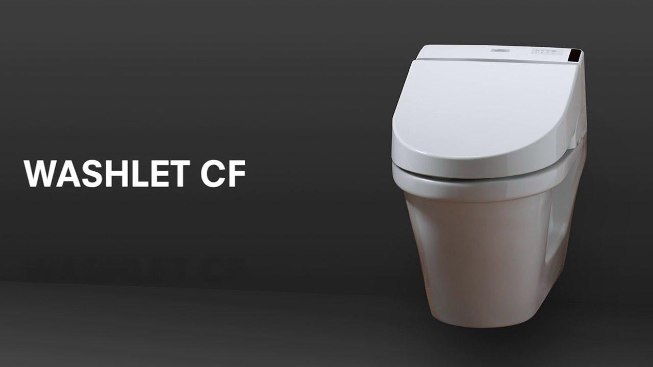 TOTO Montage / Installation WASHLET CF TCF6530G#NW1 - YouTube