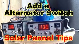 Solar Power  - How To Add Your Alternator To Your Battery Bank