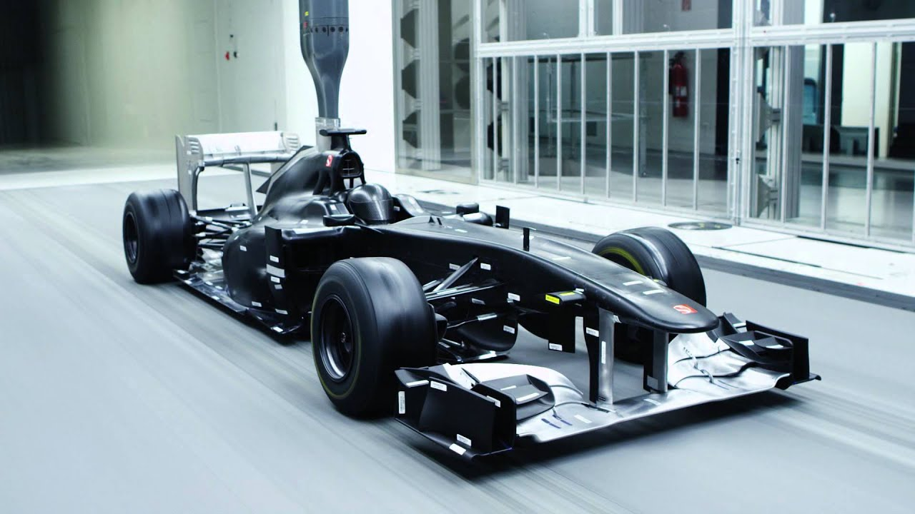 Indy Car Wallpaper Hd Sauber Wind Tunnel At Hinwil Full Hd Youtube