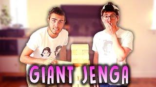 GIANT JENGA CHALLENGE