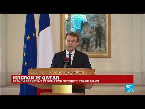 REPLAY - Watch French president Macron's speech in Qatar