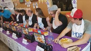 FOOD  CHALLENGE: Ihop pancake eating contest