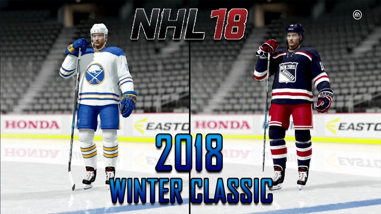 new style dc0bc 41abf NHL 18 - Re Creating The 2018 Winter Classic Uniforms