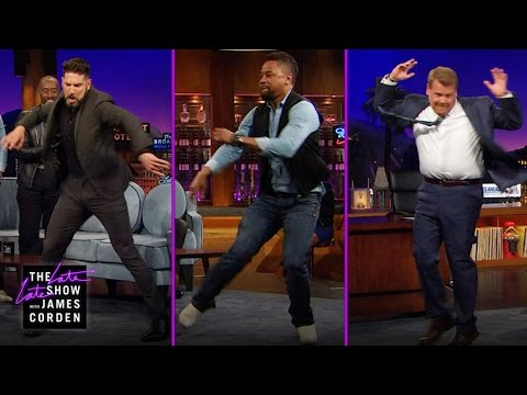Break Dance Battle w/ Jon Bernthal & Cuba Gooding Jr.