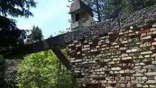 Napušteni i demolirani objekat na Trebeviću