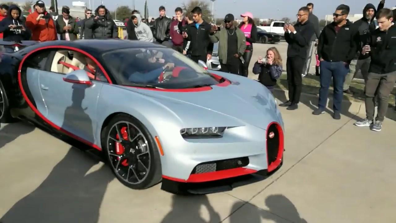 The Only Bugatti Chiron In Texas Cars And Coffee Dallas February - Dallas car show 2018
