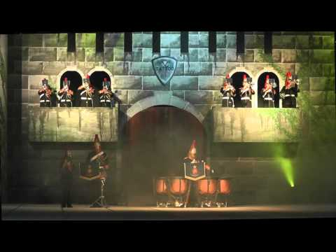 The Band of the Blues and Royals live @ Tattoo Sankt Gallen 2014