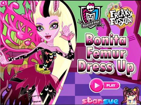 Monster high games bonita femur dress up fun dress up - Monster high bonita ...