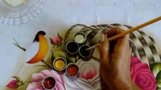 Como Pintar Passarinho – Para Iniciantes