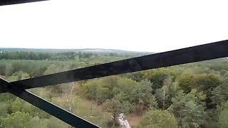 Uitkijktoren van Staatsbosbeheer op de Besthmenerberg in Ommen op zondag 06-10-2019.