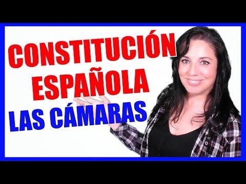 CONSTITUCIÓN ESPAÑOLA #6 LAS CÁMARAS (📚 TÍTULO III - Las Cortes Generales)