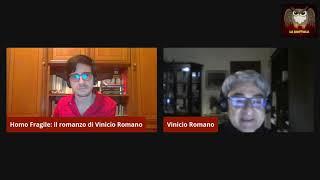 Homo fragile  il romanzo di Vinicio Romano