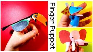Finger Puppet.  핑거퍼펫. 손가락인형만들기…