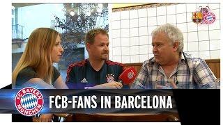 FCB-Fans in Barcelona
