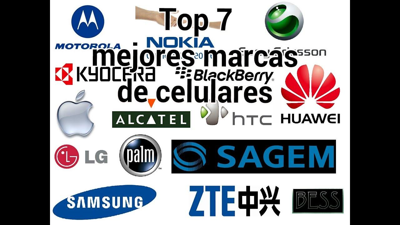 Top 7 mejores marcas de celulares youtube - Marcas de sabanas buenas ...