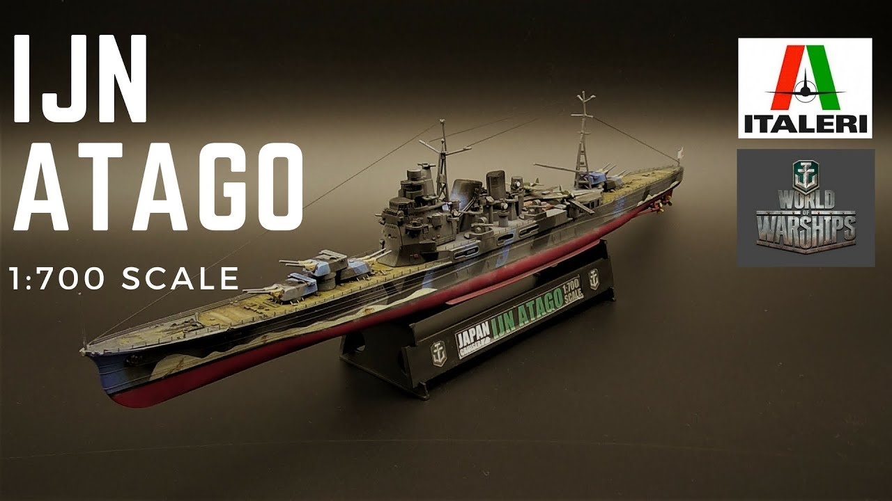 ITALERI - World of Warships : IJN ATAGO 1:700
