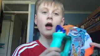Unboxing and review of Nerf Supersoaker splashmouth