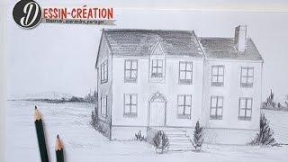 Apprendre à dessiner une maison en perspective