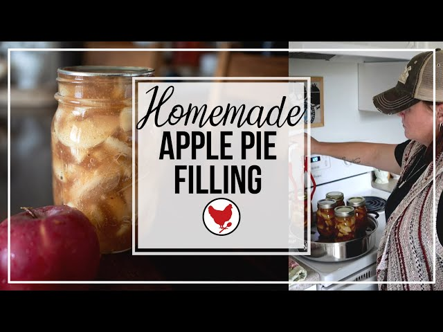 HOMEMADE APPLE PIE FILLING | CANUARY