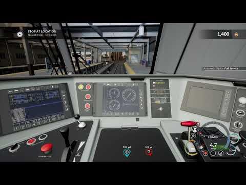 Train Sim World CSX Heavy Haul: Northeast Corridor. Newark airport-New Rochelle (4K)
