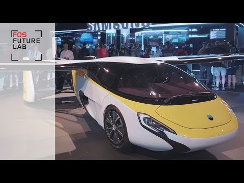 Is AeroMobil the most incredible flying car you've seen?