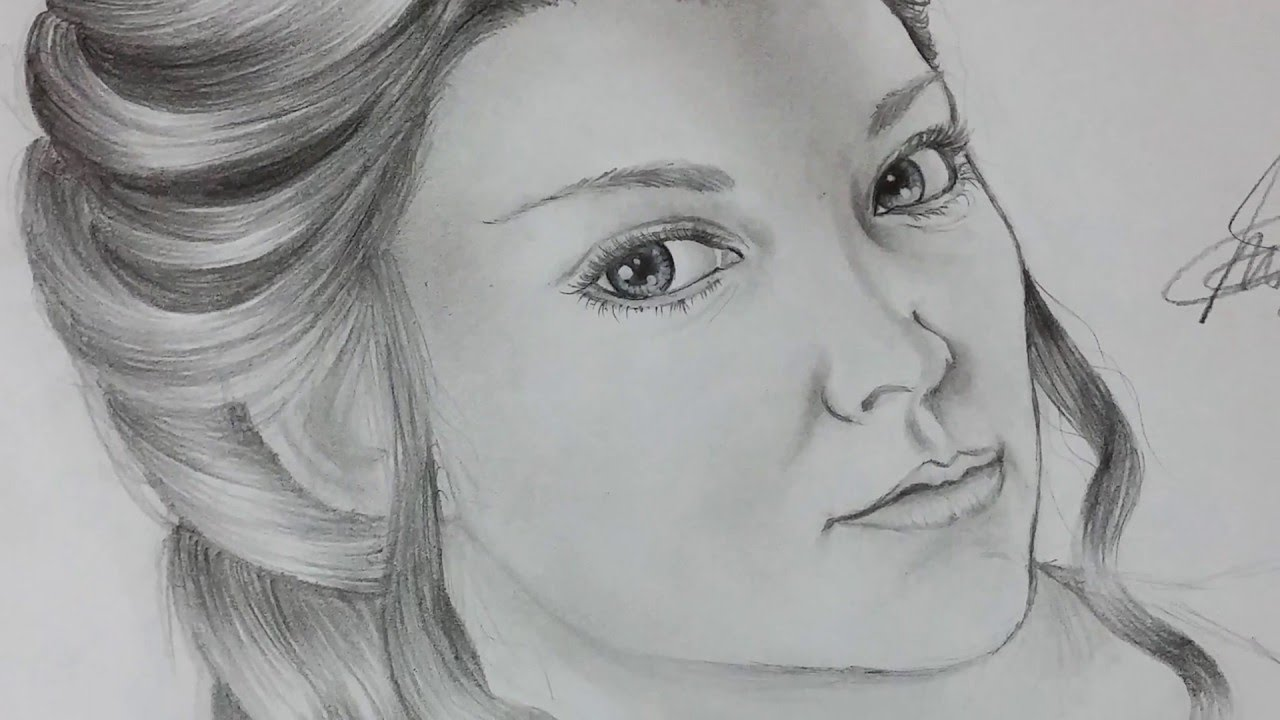 Speed Drawing Margaery Tyrell Game of Thrones YouTube
