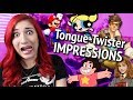 TONGUE-TWISTER VOICE IMPRESSIONS (English, Spanish, German, Dutch, & more)
