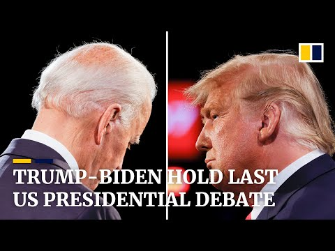Final US presidential debate for Trump and Biden covers Covid-19, China and 'thug' Kim
