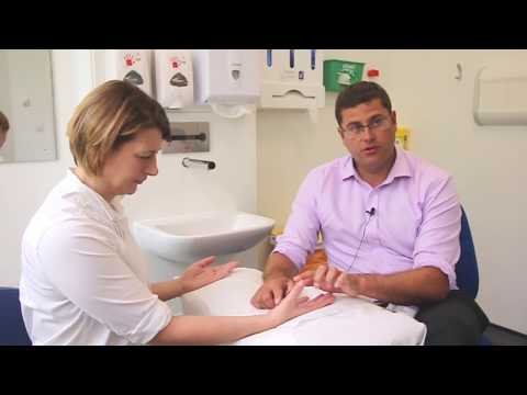 Hand Exam Carpal Tunnel Syndrome