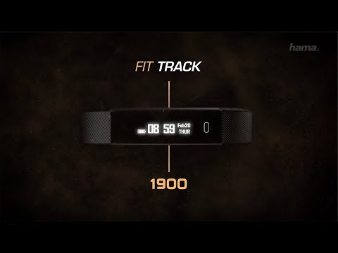 "Hama Fitness-Tracker ""Fit Track 1900"""