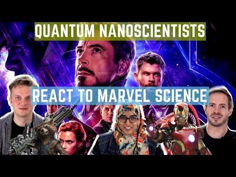 Quantum Nanoscientists React To Marvel Science 마블 영화 속 과학에 대한 양자나노 과학자들의 반응