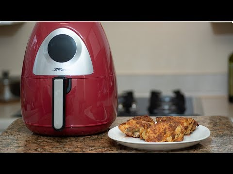 ESTRENANDO MI AIR FRYER CON POLLO FRITO