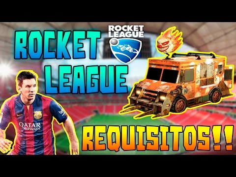 Rocket League| Requisitos PC| En Español