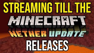 Streaming Till The Minecraft 1.16 Nether Update Releases!