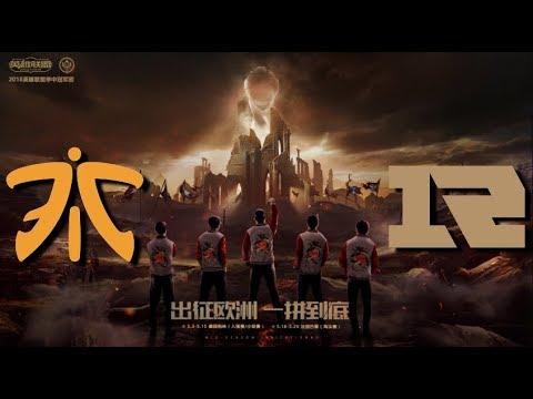 【MSI季中冠軍賽】小組賽 第一天 FNC vs RNG
