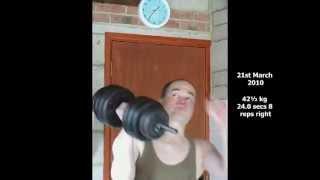 50 8 kg - levantamiento de pesas - el entrenamiento  -
