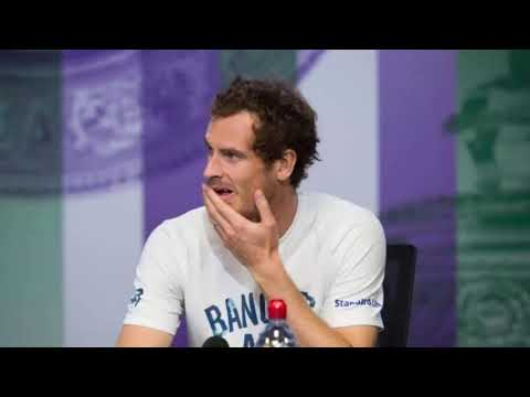 'First male player': Andy Murray corrects reporter who overlooked Serena Williams