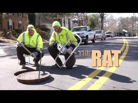 The RAT Pack: Using sound to find clogged sewer pipes