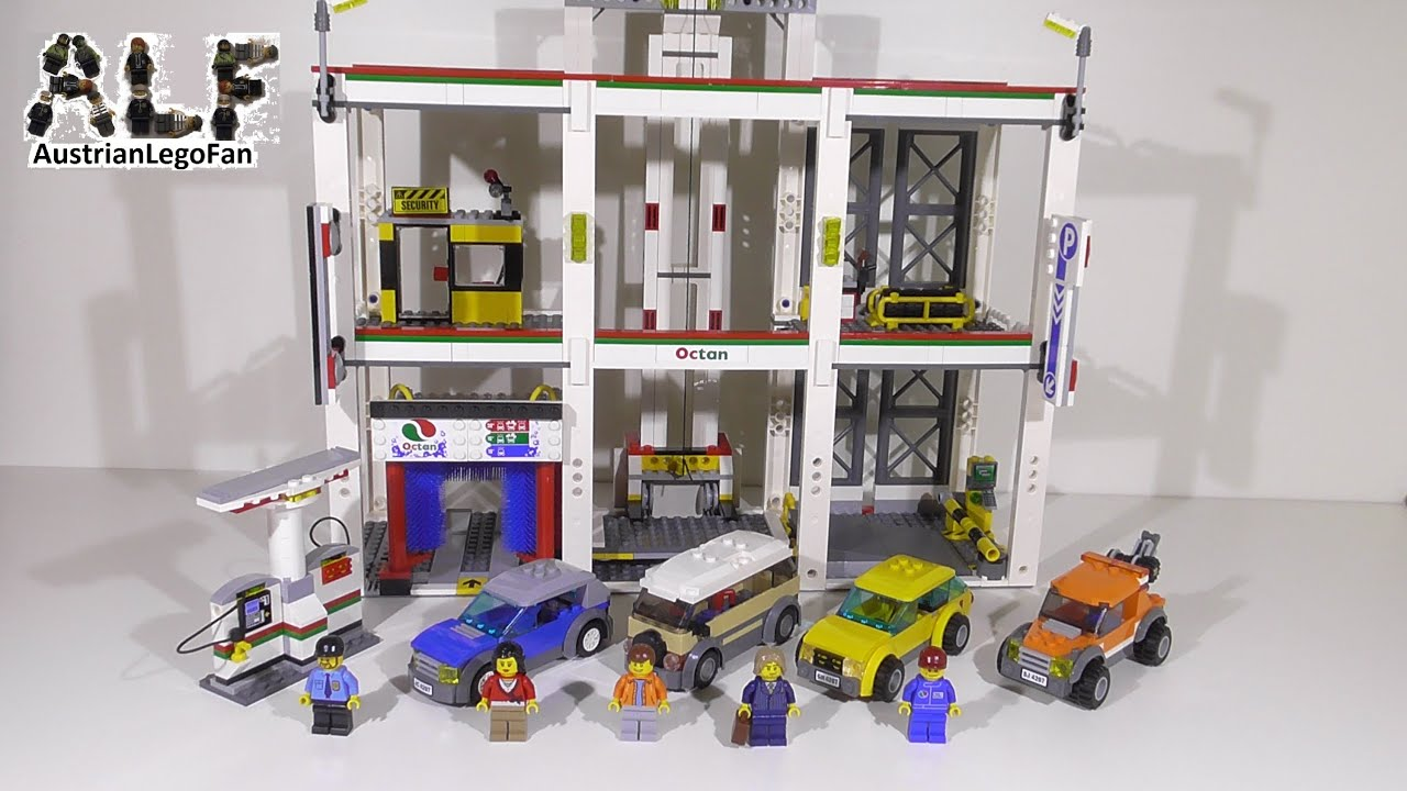 Lego City 4207 City Garage Grosse Werkstatt Lego Speed Build