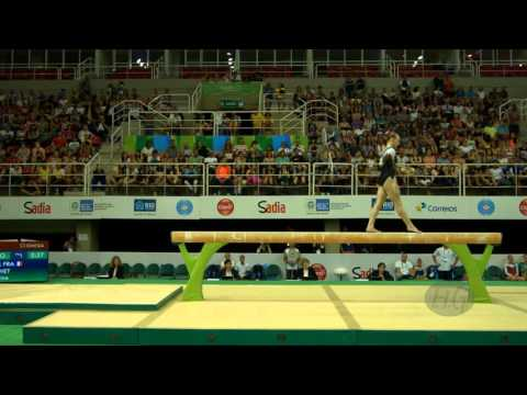 BREVET Marine (FRA) - 2016 Olympic Test Event, Rio (BRA) - Apparatus Final Balance Beam