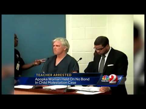Teacher accused of molesting  13-year-old held with no bond