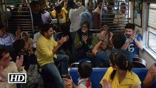 بالفيديو.. أميتاب باتشان يغني في أحد قطارات الهند